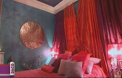 Mettre de la couleur dans ma chambre weng et blanc for Chambre indienne decoration