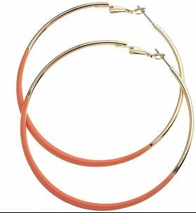 Coral_Enamel_Dipped_Earrings