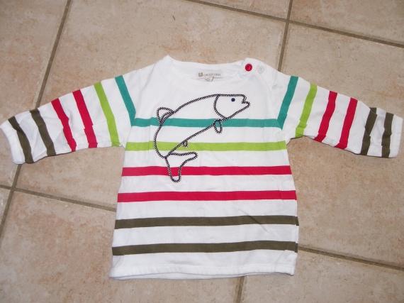 t-shirt 9 mois Super U - jamais porté, juste lavé - 4€