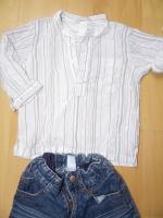 détail chemise H&M