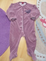 pyjama violet 18 mois - tex