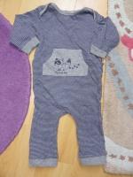 pyjama rayé 18 mois - kiabi (taille petit !)