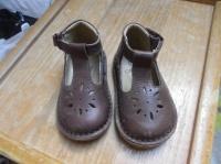 chaussures en cuir obaibi p.19 (ou 20 à confirmer) NEUVES