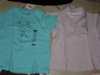 T-shirt turquoise neuf étiqueté - polo rose Hello Kitty