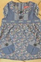 détail blouse kiabi