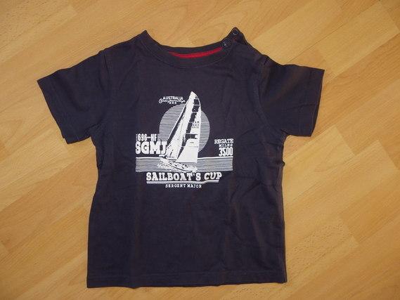 T-shirt bleu Sergent Major - 4ans TBE 5€