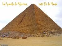 La Pyramide de Mykerinos