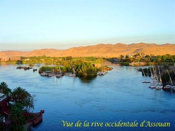 Rive occidentale d'Assouan
