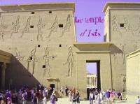 Ce temple est dédié à ISIS