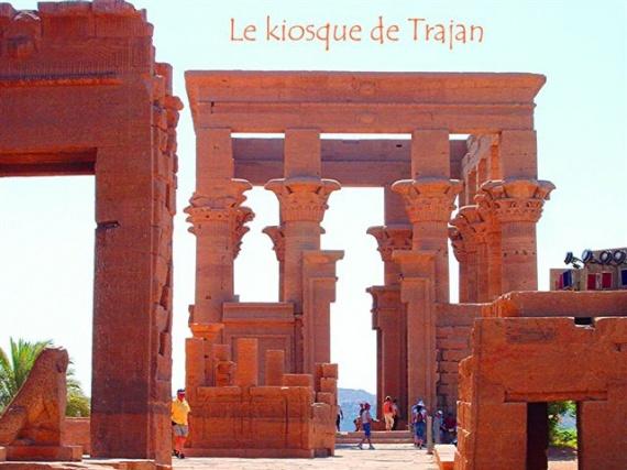 le kiosque de Trajan
