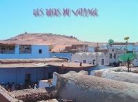 les toits du village restés authentiques