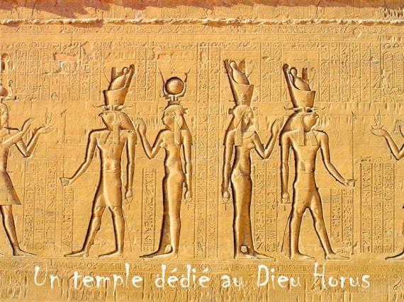 Edfou, dédié au dieu Horus