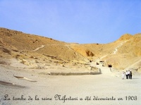 la tombe de Nefertari