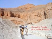 la tombe de Sethy II