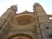 la rosace de la Cathédrale