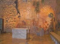 l'autel réalisé par Gaudi