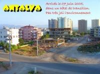 HOTEL DE TRANSITION A ANTALYA  BEURK