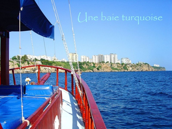 UNE BAIE TURQUOISE