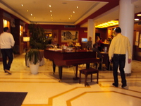 LE HALL DE L'HOTEL