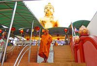 les moines thai
