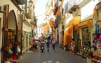 rue piétonne d'Amalfi