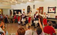 Repas dégustation chez les grecs (Katakolon)