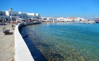 Arrivée à Mykonos