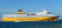 Le Corsica Ferry que nous avons pris
