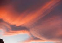 un ciel bizarre