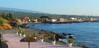 la plage à Catane