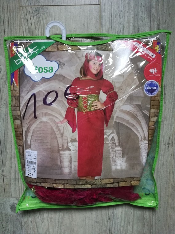 déguisement Moyen-Age 10-12a