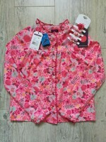 sergent major °chat perché tropical° blouse 11a élastiques