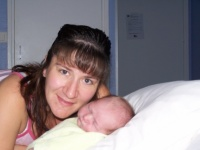 Avec maman