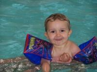 Dilane à la piscine