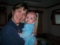 Stiven avec maman