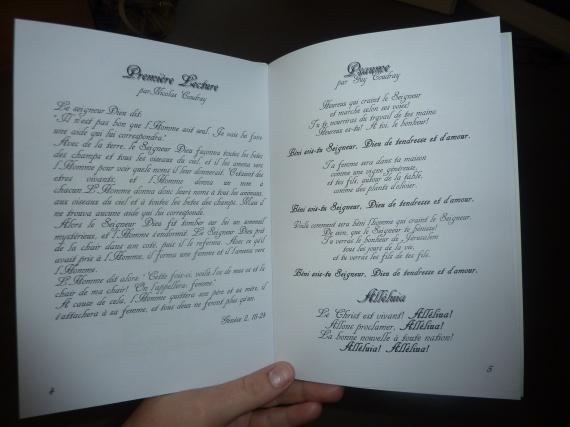livret de messe 4 pr 233 paratifs mariage poussinette16062011 photos club doctissimo