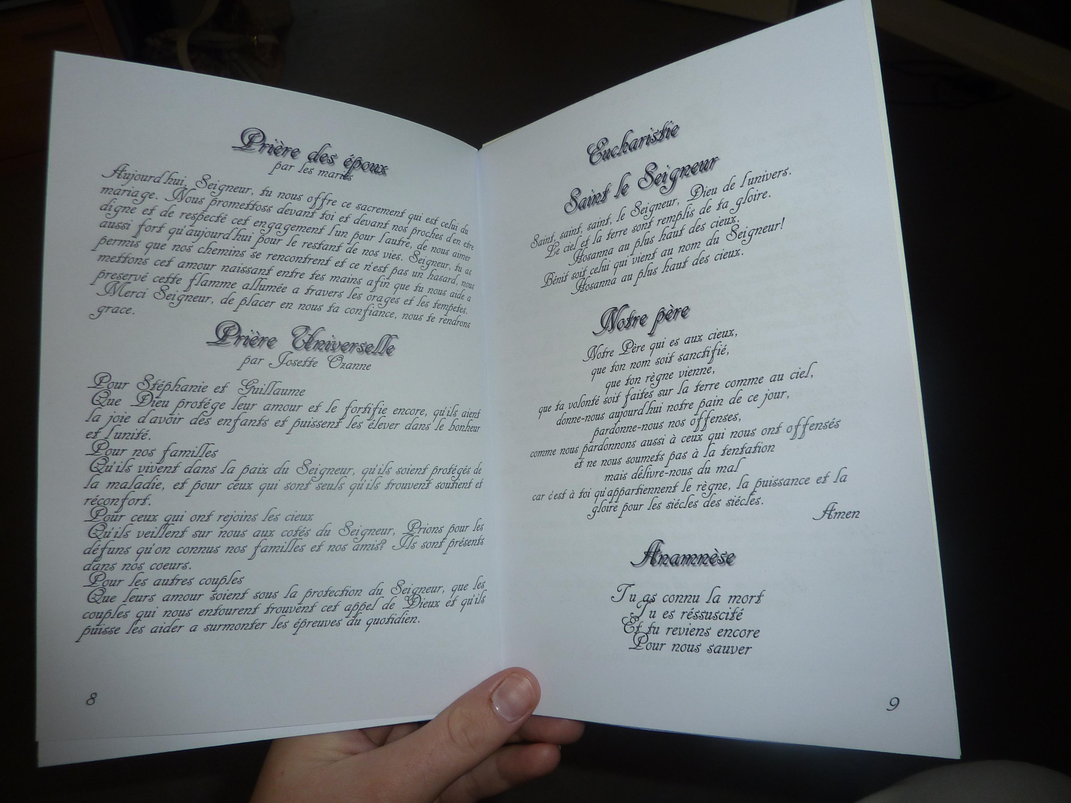 alerter les modrateurs voir limage au format original - Exemple Livret De Messe Mariage