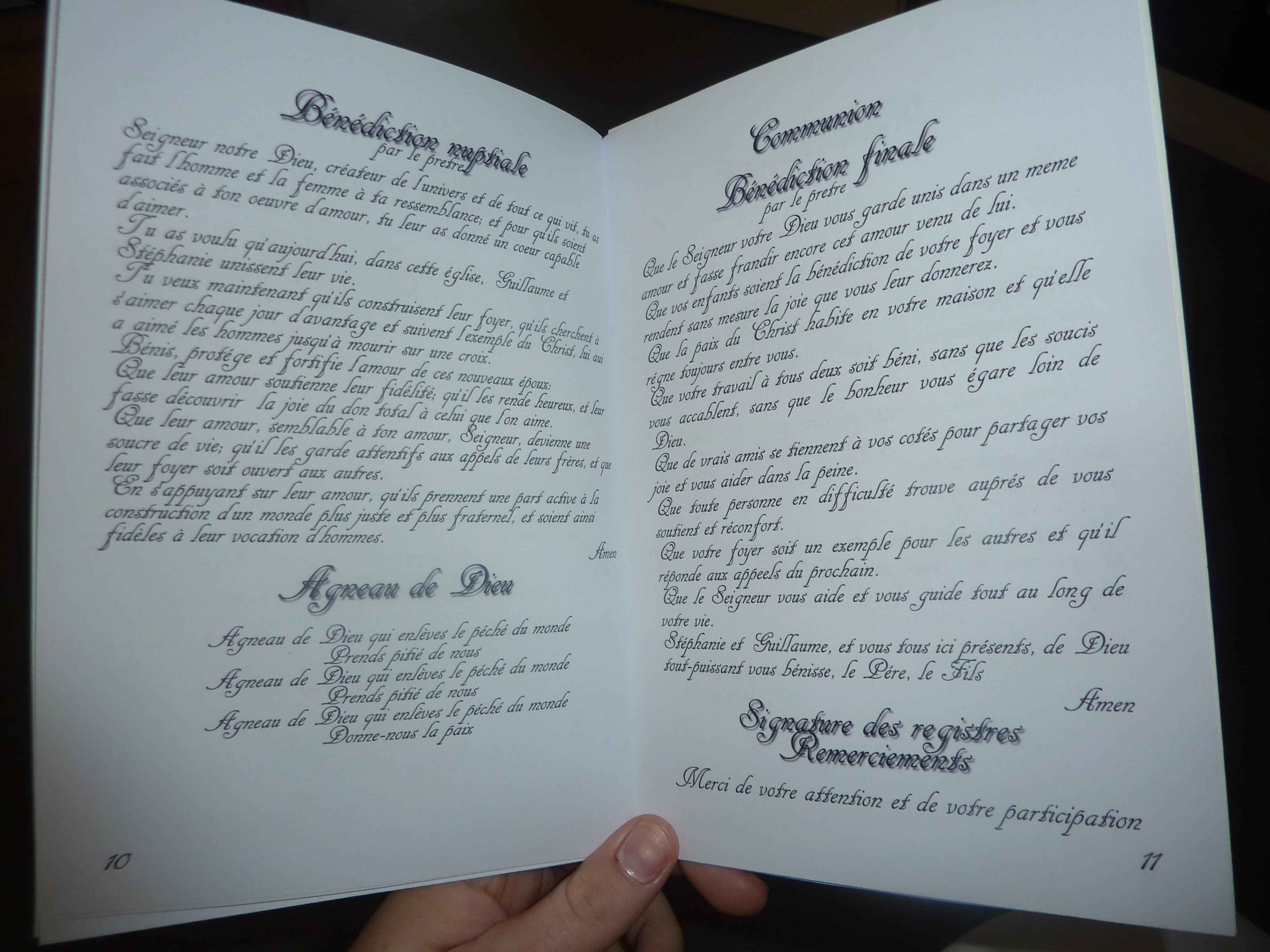 alerter les modrateurs voir limage au format original - Exemple Remerciement Livret De Messe Mariage