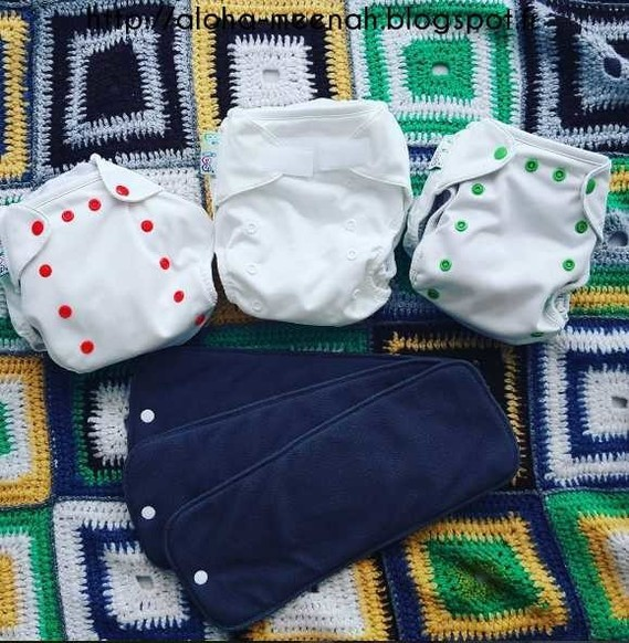 MEENAH - COUCHES LAVABLES - BBIES - TE2 - INSERT NUIT - BAMBOU - CLOTHDIAPERS - TAILLE UNIQUE -