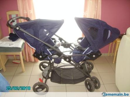 117142940 poussette jumeaux bebe confort divers. Black Bedroom Furniture Sets. Home Design Ideas