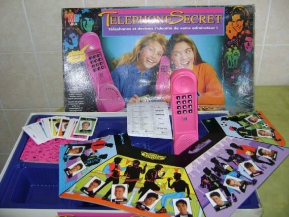 le téléphone secret