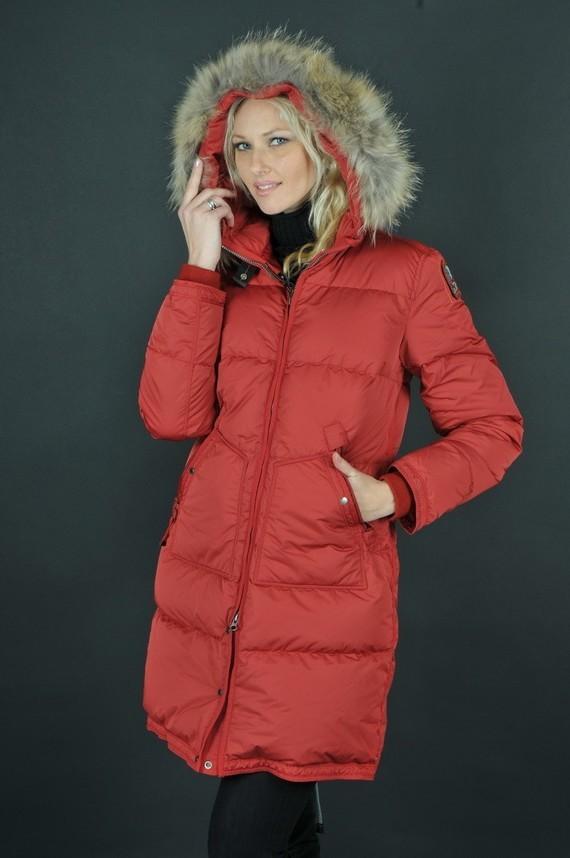 Parajumpers-Pas-Cher-Light-Long-Bear-Coat-Femme-Rouge_3