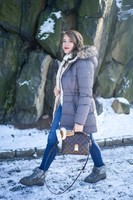 covering the bases fashion blog ralph lauren puffer coat winter fashion fur boots ugg earmuffs-4