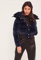 navy-velvet-cropped-padded-coat