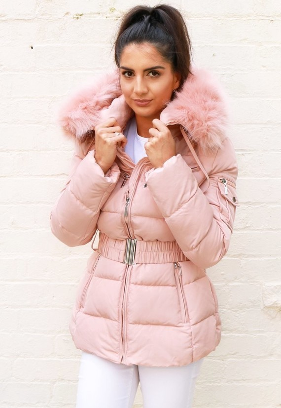 Coats_-_Harper_Long_Belted_Puffer_-_Pink_-_Front_MS3_760x