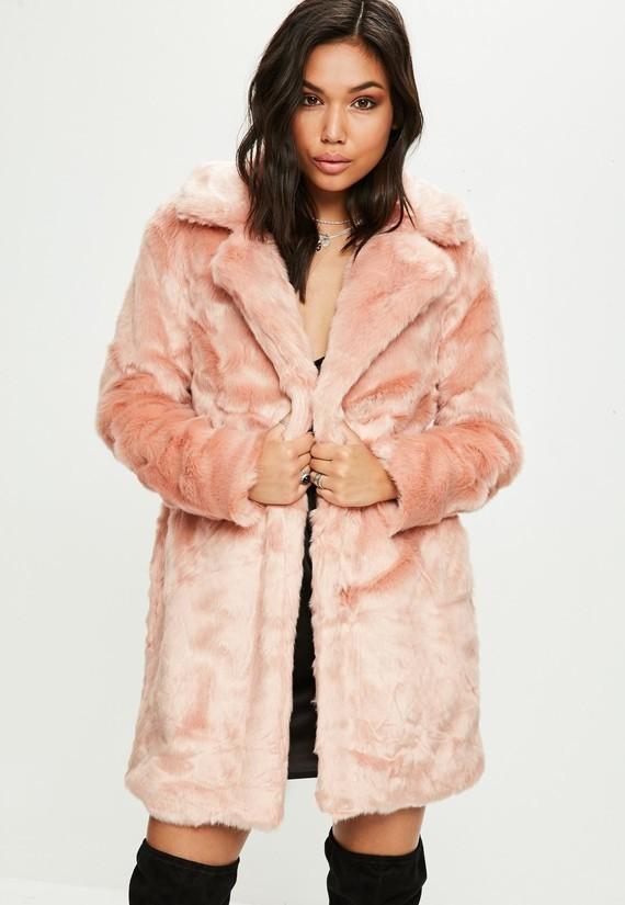 abrigo-de-pelo-sinttico-en-rosa