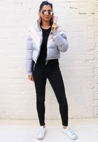 COATS_-_CROPPED_CHEVRON_PUFFER_-_GREY_PINK_-_FRONT_LS