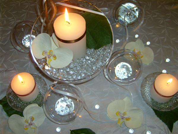 décoration de table orchidée #3