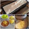 Préparation bûche glacée au citron