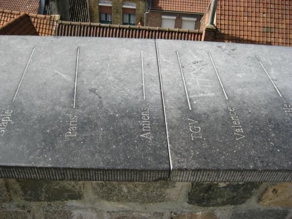 diverses directions du mommets du Mont Cassel